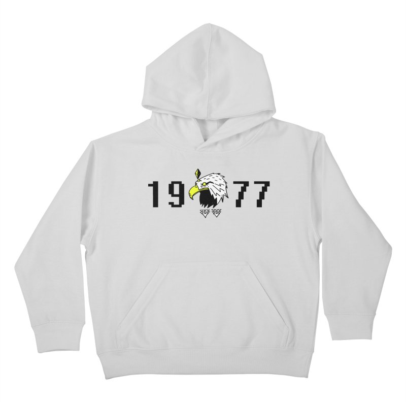 77 Eagle Kids Pullover Hoody by Ertito Montana