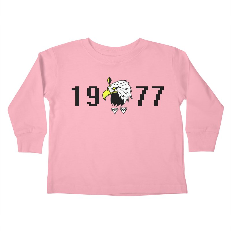 77 Eagle Kids Toddler Longsleeve T-Shirt by Ertito Montana