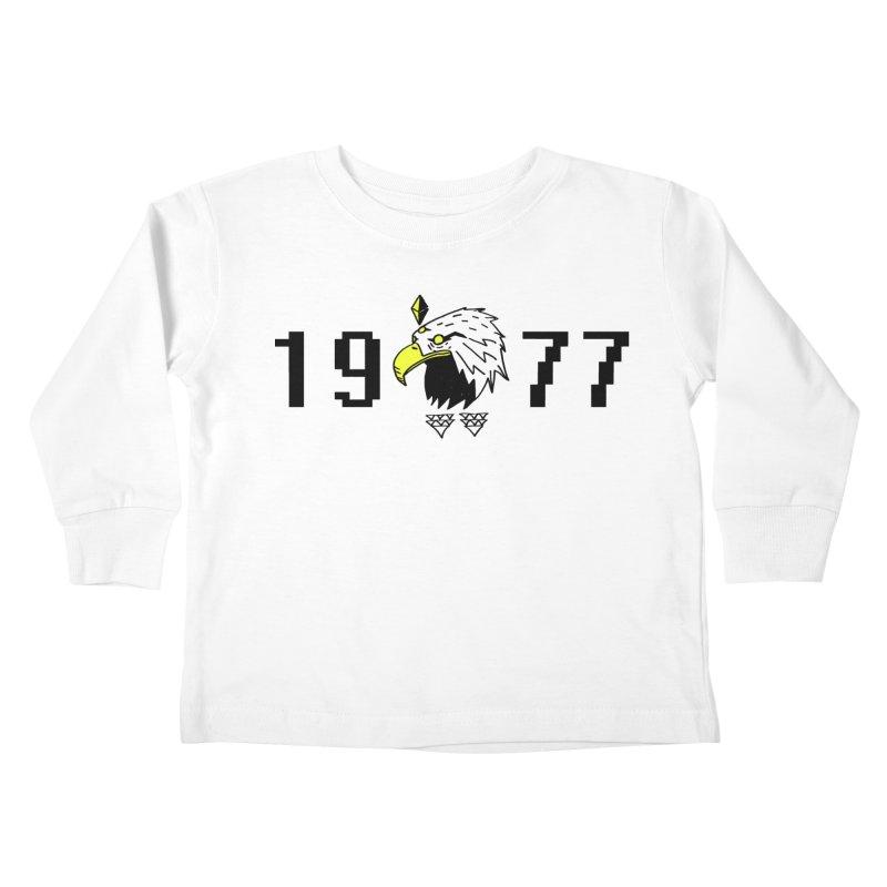 77 Eagle Kids Toddler Longsleeve T-Shirt by Ertito Montana