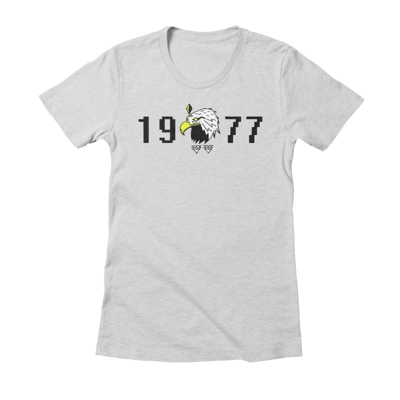 77 Eagle Women's Fitted T-Shirt by Ertito Montana