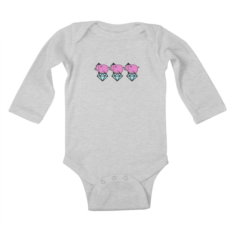 Snatch Kids Baby Longsleeve Bodysuit by Ertito Montana