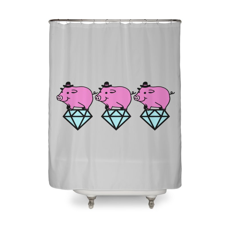 Snatch Home Shower Curtain by Ertito Montana