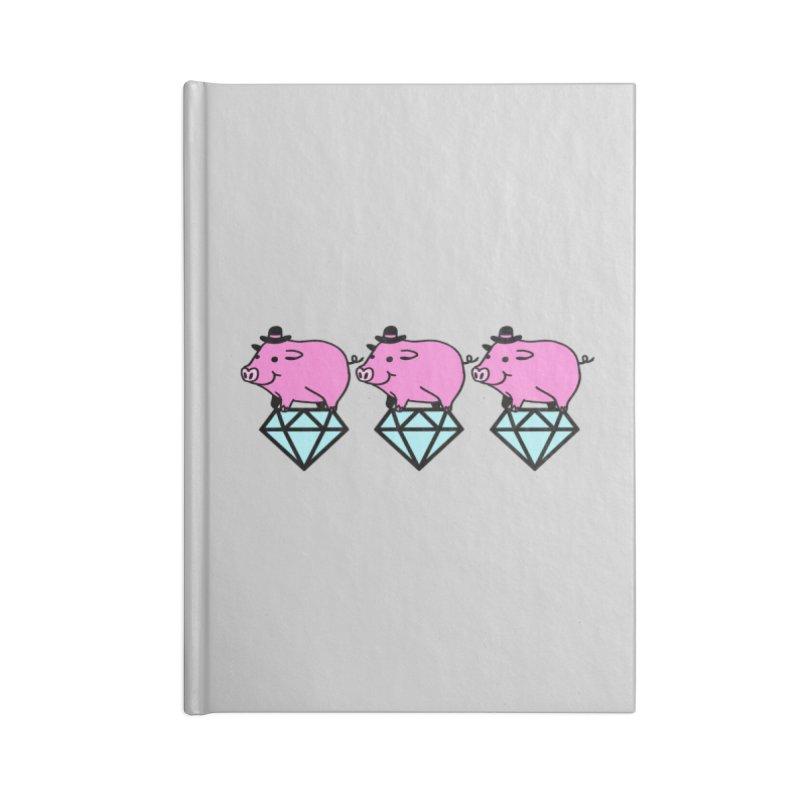 Snatch Accessories Blank Journal Notebook by Ertito Montana