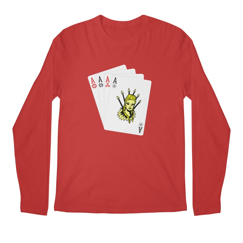 Lagertha Men's Longsleeve T-Shirt by Ertito Montana