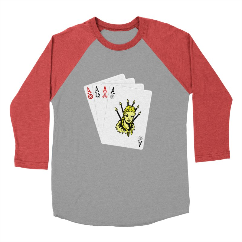 Lagertha Men's Baseball Triblend T-Shirt by Ertito Montana