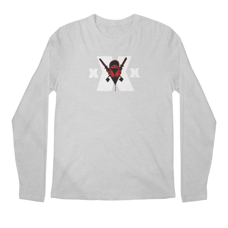 Triple X Ninja Men's Longsleeve T-Shirt by Ertito Montana
