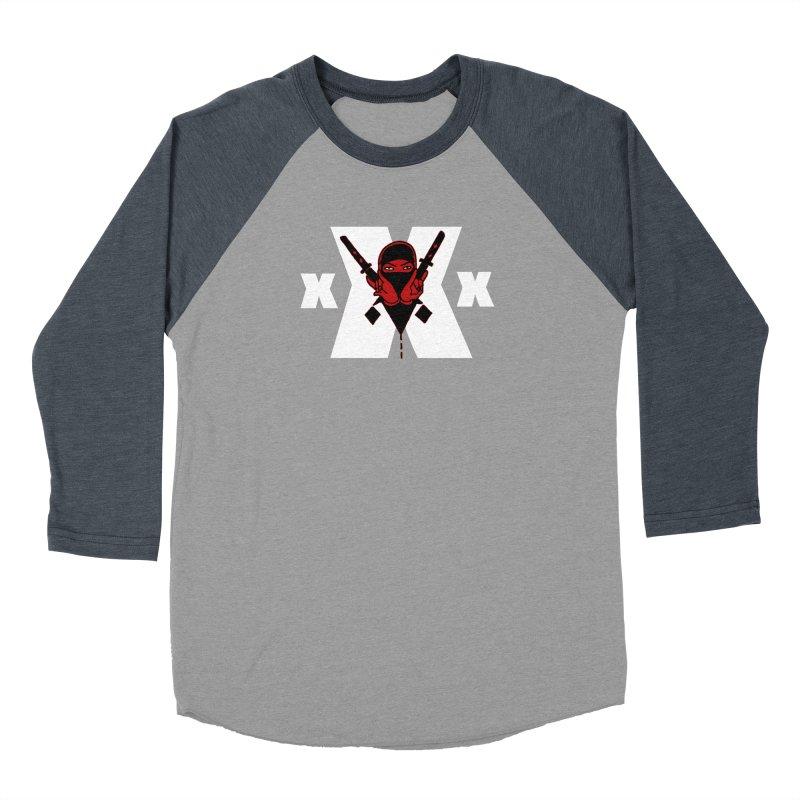 Triple X Ninja Women's Baseball Triblend T-Shirt by Ertito Montana