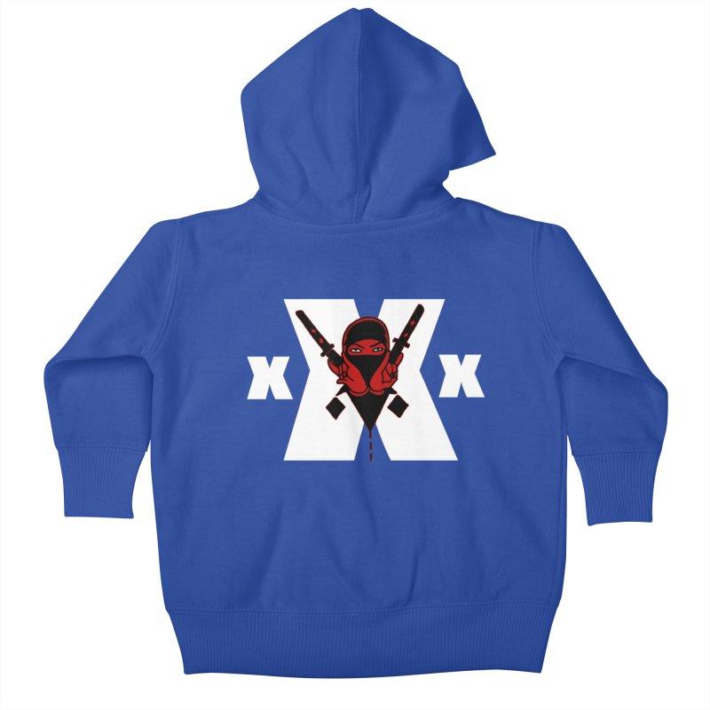 Triple X Ninja Kids Baby Zip-Up Hoody by Ertito Montana