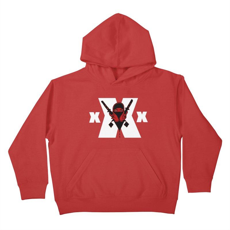 Triple X Ninja Kids Pullover Hoody by Ertito Montana