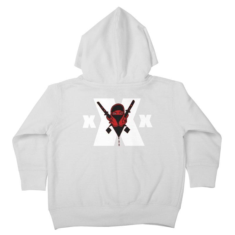 Triple X Ninja Kids Toddler Zip-Up Hoody by Ertito Montana