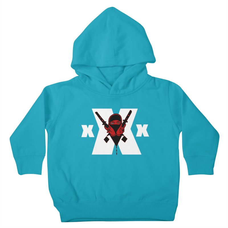 Triple X Ninja Kids Toddler Pullover Hoody by Ertito Montana