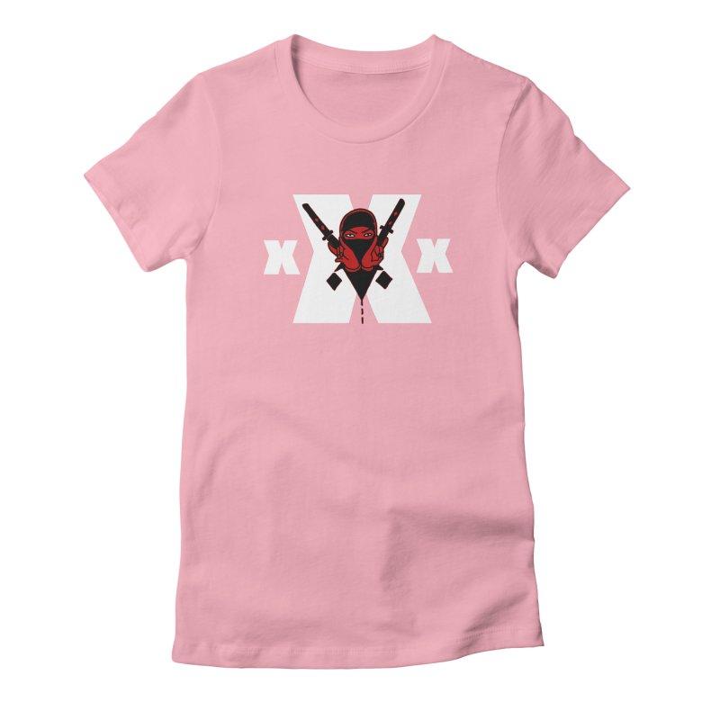Triple X Ninja Women's Fitted T-Shirt by Ertito Montana