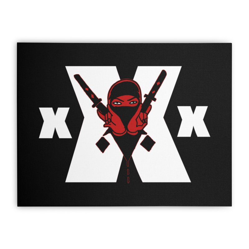 Triple X Ninja Home Stretched Canvas by Ertito Montana