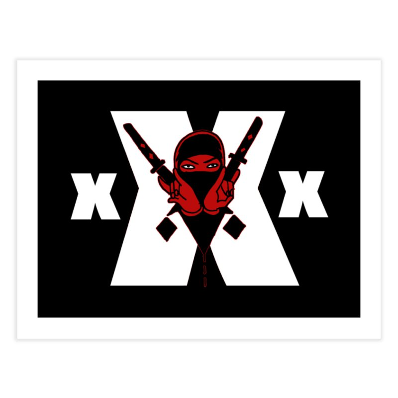 Triple X Ninja Home Fine Art Print by Ertito Montana