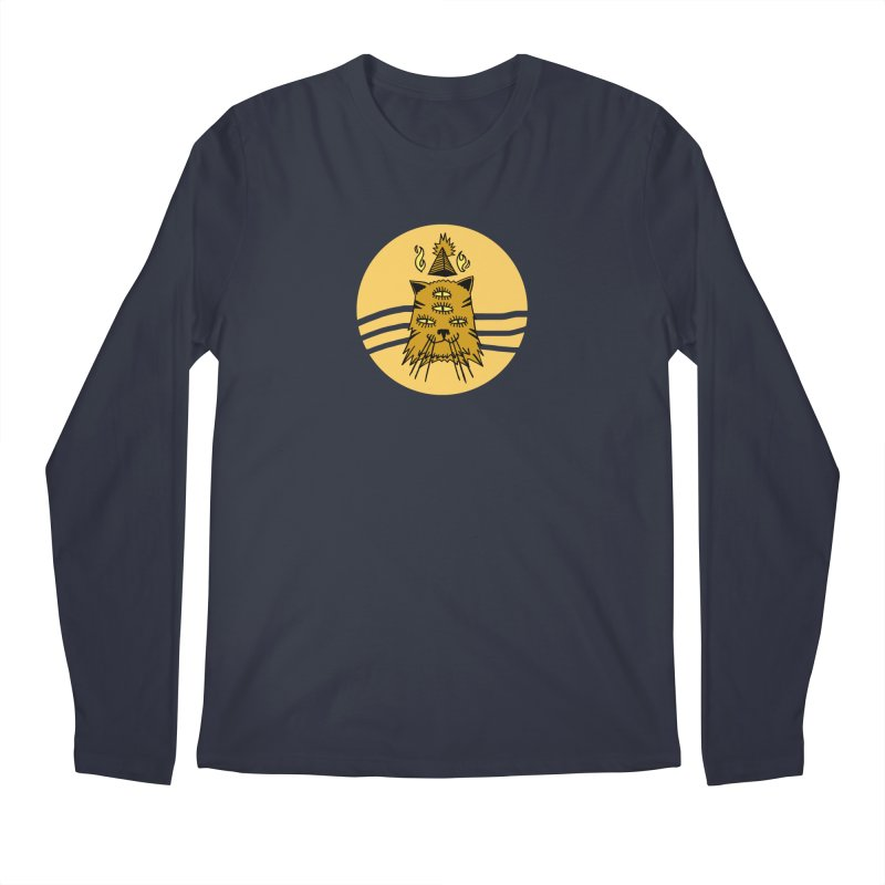 New Age Cat Men's Longsleeve T-Shirt by Ertito Montana