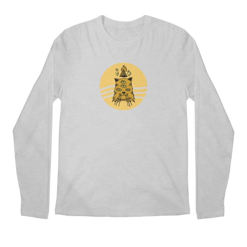 New Age Cat Men's Regular Longsleeve T-Shirt by Ertito Montana