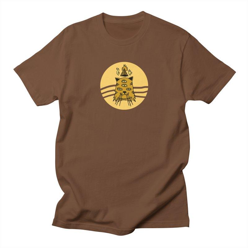 New Age Cat Men's T-Shirt by Ertito Montana