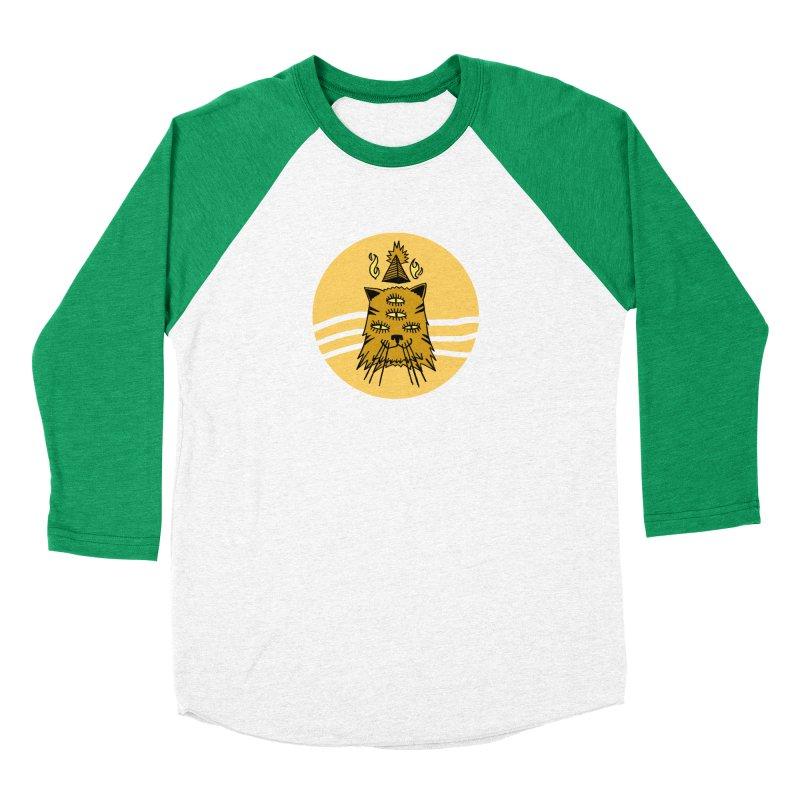 New Age Cat Men's Baseball Triblend T-Shirt by Ertito Montana