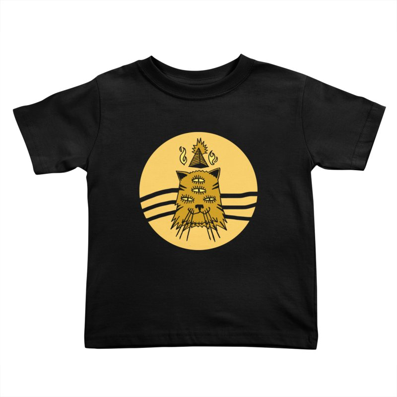 New Age Cat Kids Toddler T-Shirt by Ertito Montana