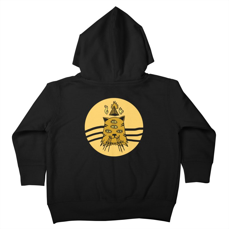 New Age Cat Kids Toddler Zip-Up Hoody by Ertito Montana