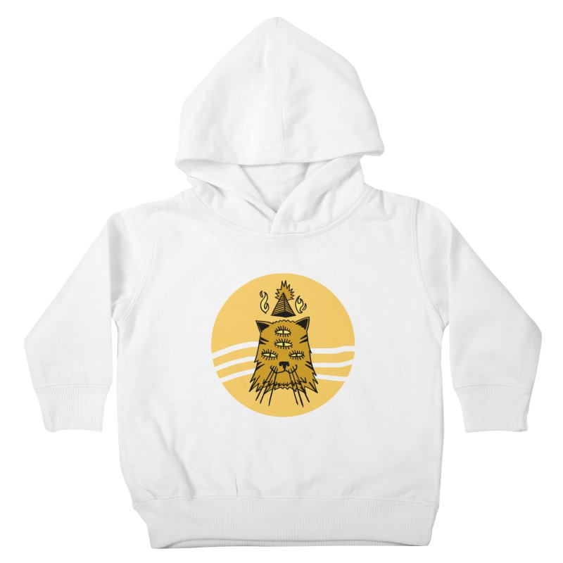 New Age Cat Kids Toddler Pullover Hoody by Ertito Montana