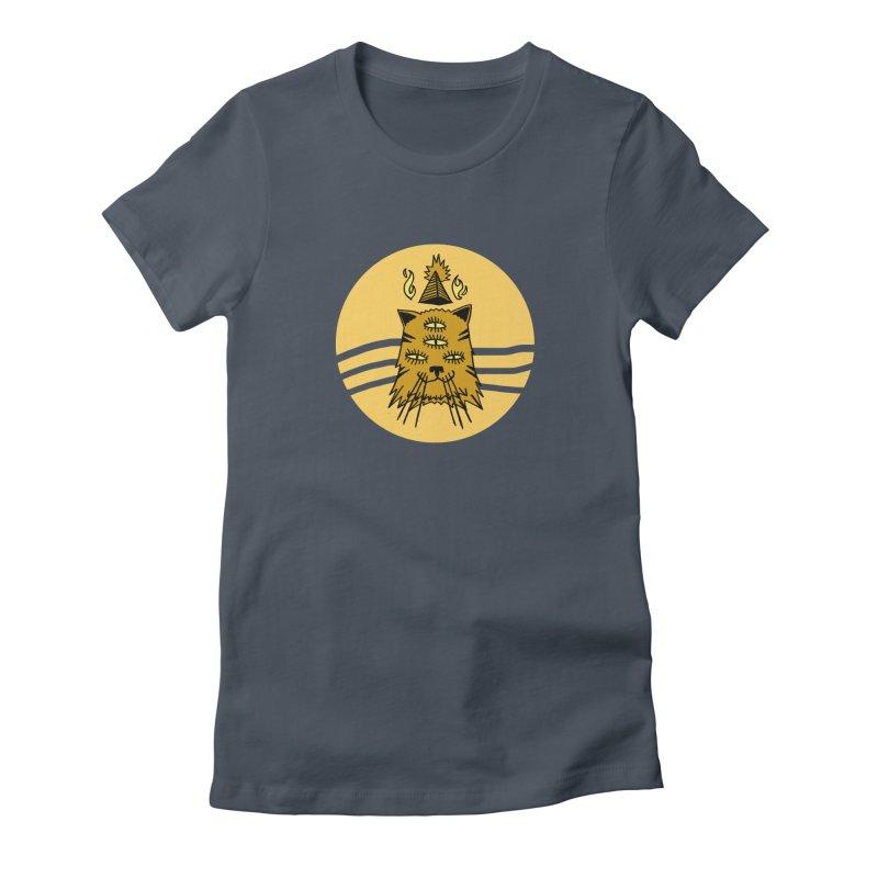 New Age Cat Women's T-Shirt by Ertito Montana