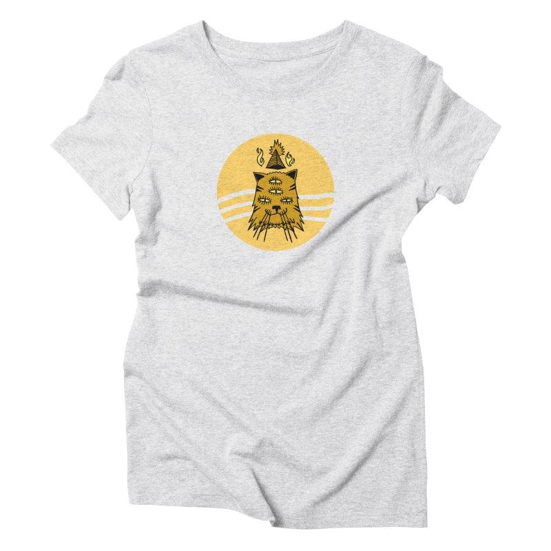 New Age Cat Women's Triblend T-Shirt by Ertito Montana