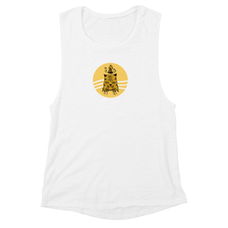 New Age Cat Women's Muscle Tank by Ertito Montana