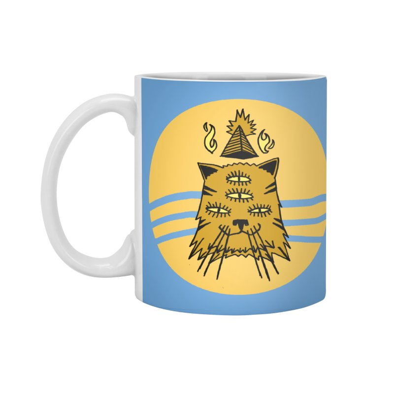New Age Cat Accessories Standard Mug by Ertito Montana