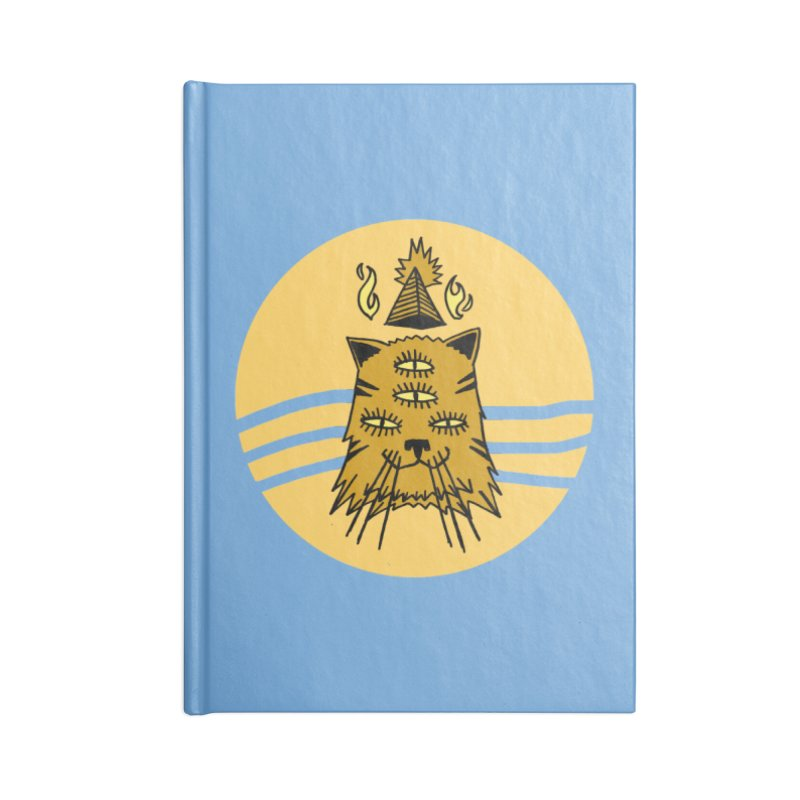 New Age Cat Accessories Blank Journal Notebook by Ertito Montana