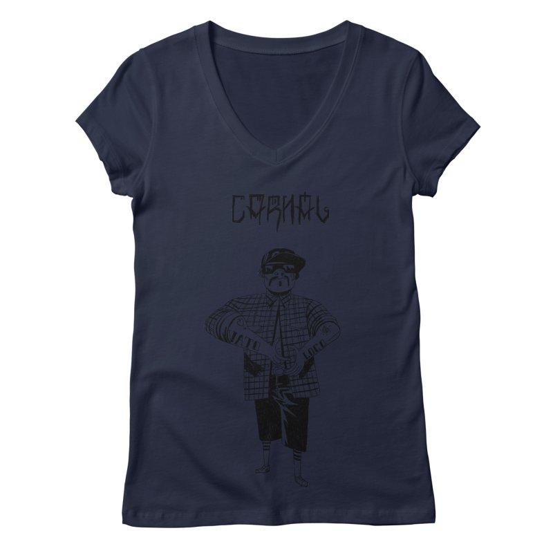 Carnal Women's V-Neck by Ertito Montana