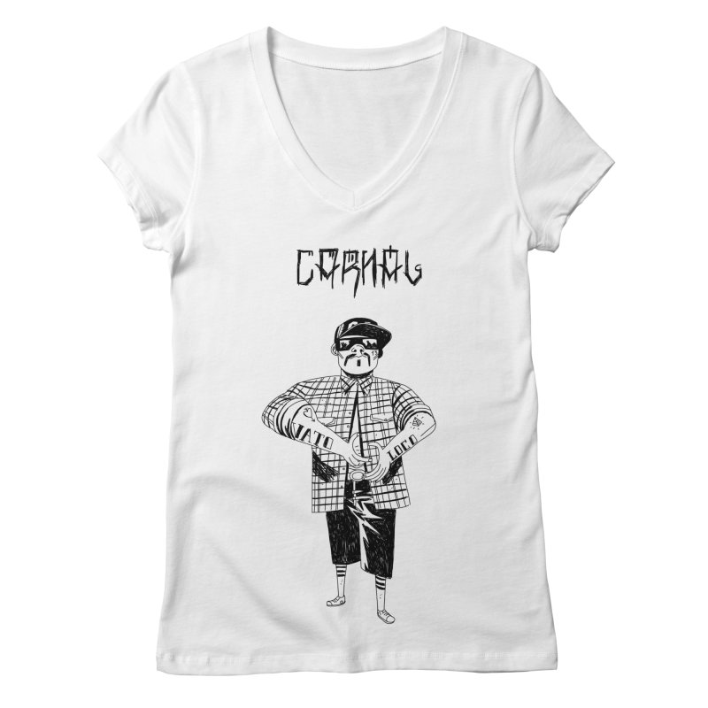 Carnal Women's V-Neck by Ertito Montana