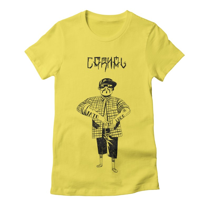 Carnal Women's Fitted T-Shirt by Ertito Montana