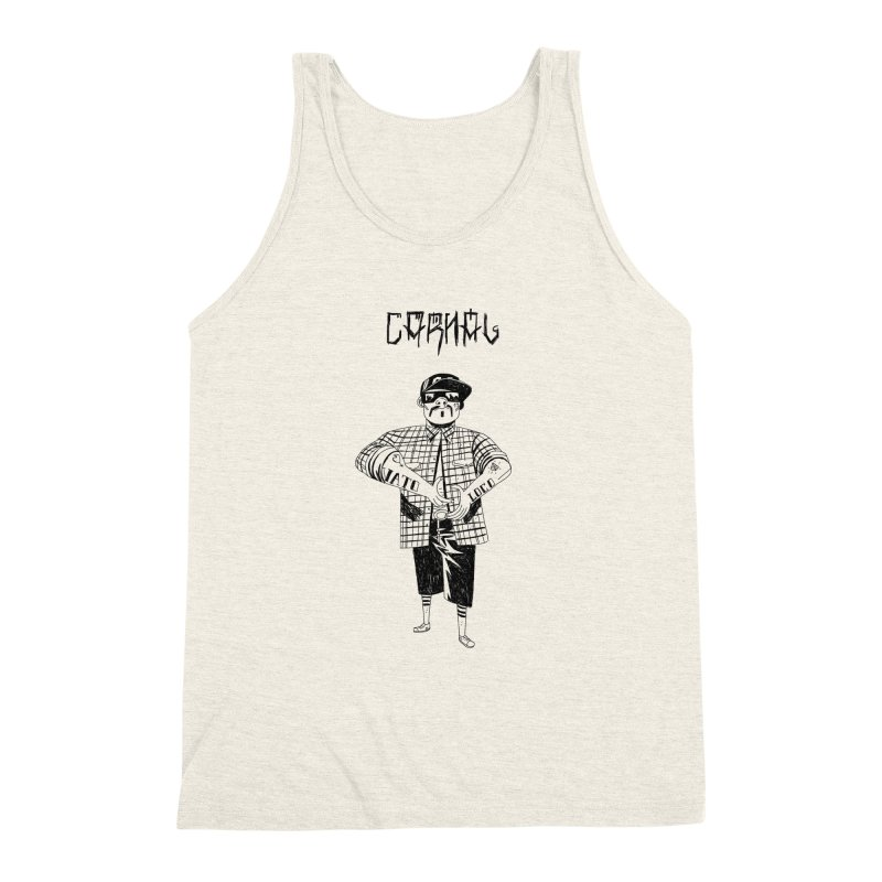 Carnal Men's Triblend Tank by Ertito Montana