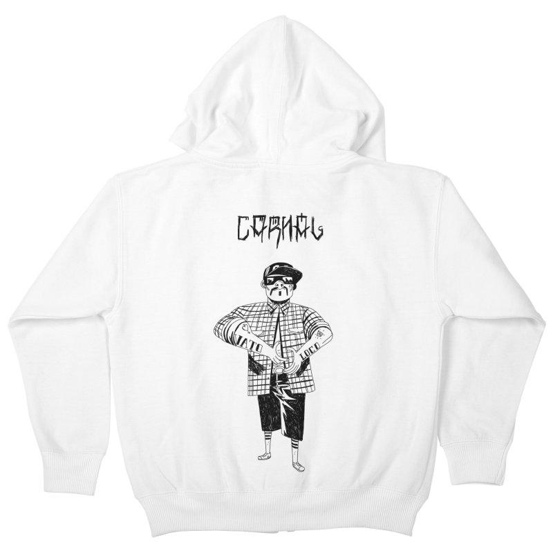 Carnal Kids Zip-Up Hoody by Ertito Montana