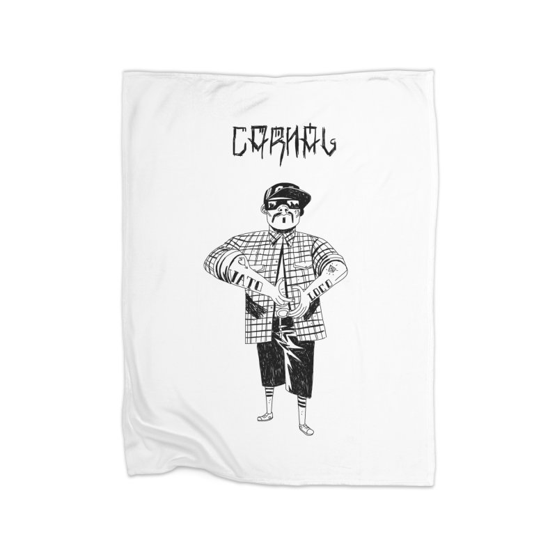 Carnal Home Fleece Blanket Blanket by Ertito Montana