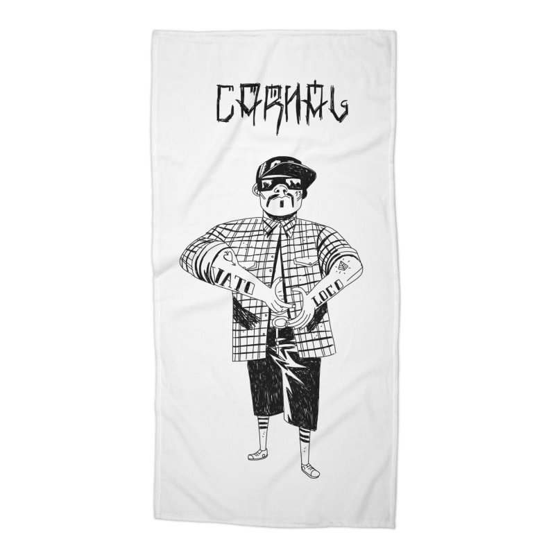 Carnal Accessories Beach Towel by Ertito Montana
