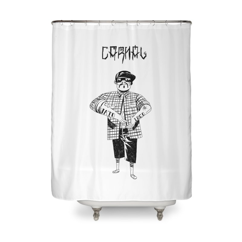 Carnal Home Shower Curtain by Ertito Montana