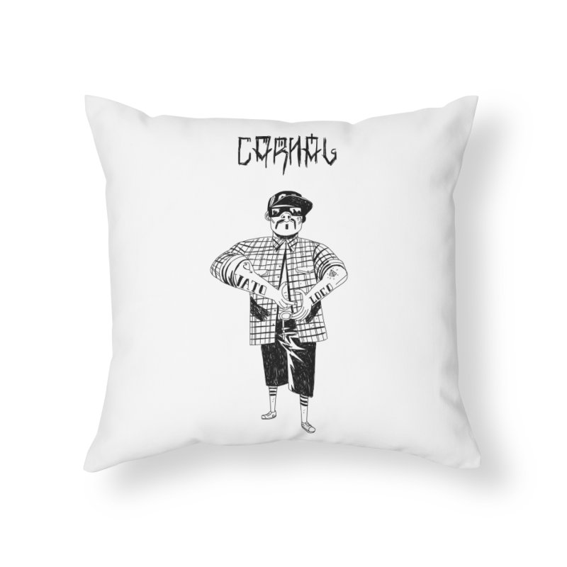 Carnal Home Throw Pillow by Ertito Montana
