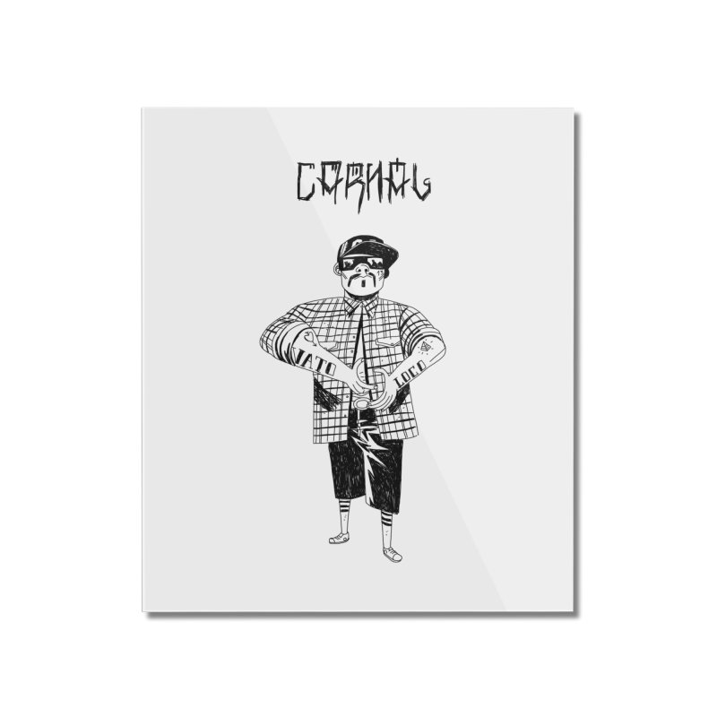 Carnal Home Mounted Acrylic Print by Ertito Montana
