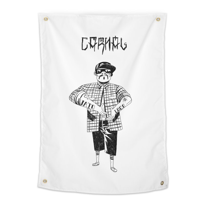 Carnal Home Tapestry by Ertito Montana