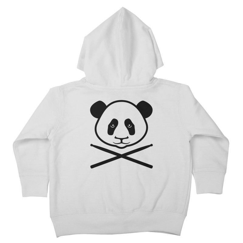 Drum Panda Transparent Kids Toddler Zip-Up Hoody by Drum Geek Online Shop