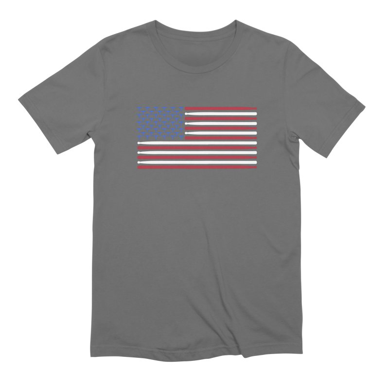 Old Glory Men's Extra Soft T-Shirt by Drum Geek Online Shop