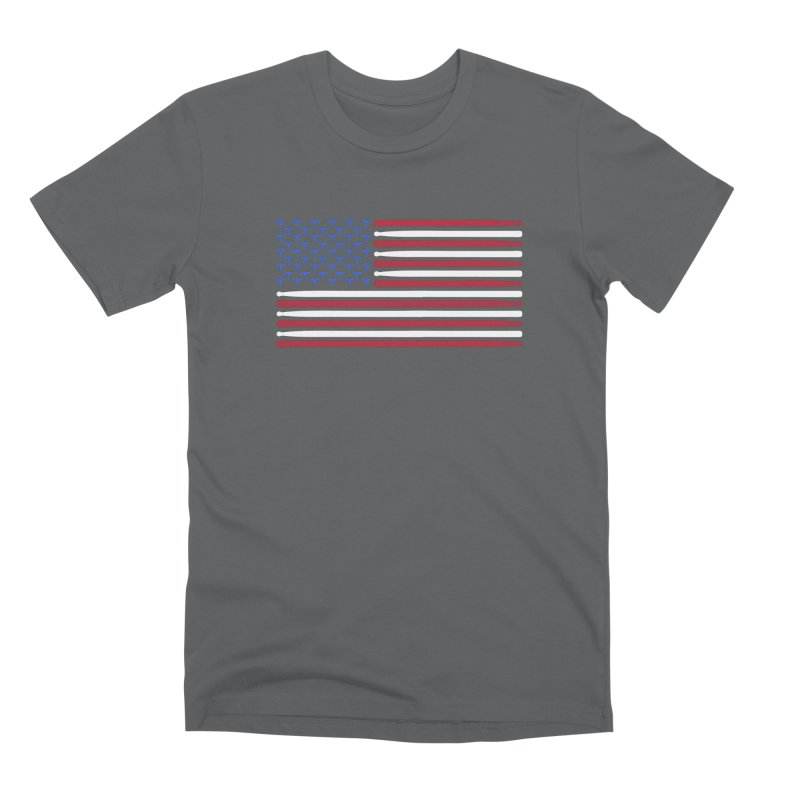 Old Glory Men's Premium T-Shirt by Drum Geek Online Shop