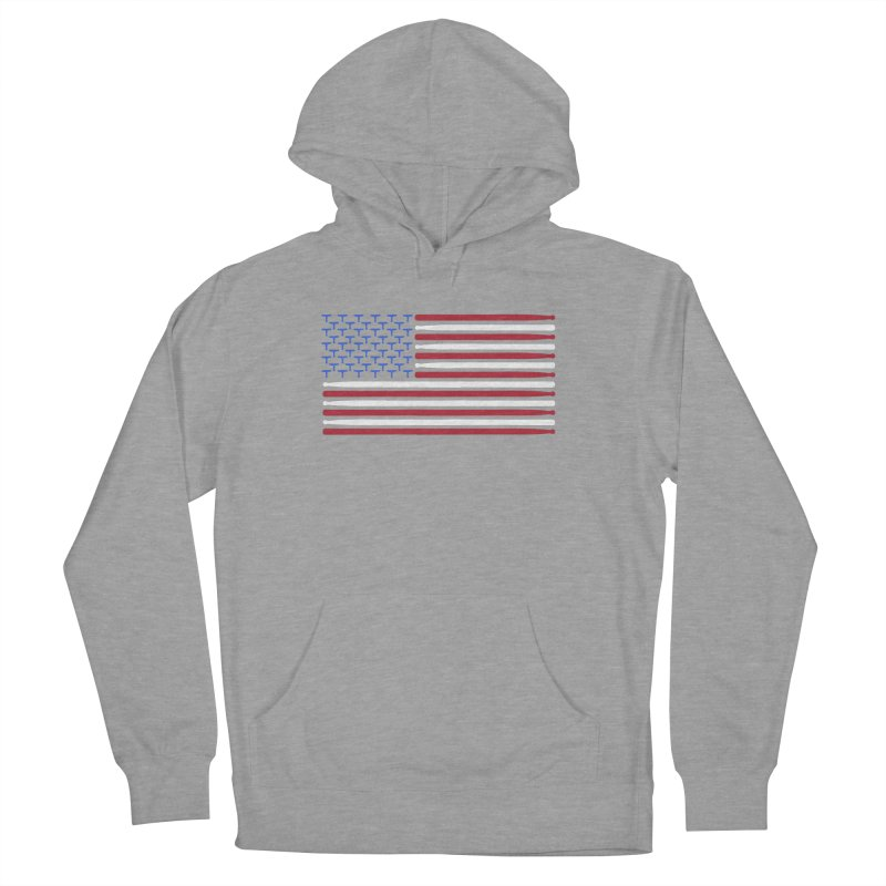 Old Glory Men's French Terry Pullover Hoody by Drum Geek Online Shop