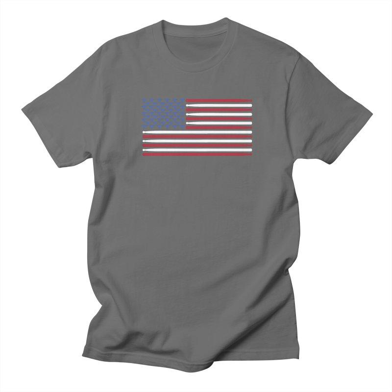 Old Glory Men's T-Shirt by Drum Geek Online Shop