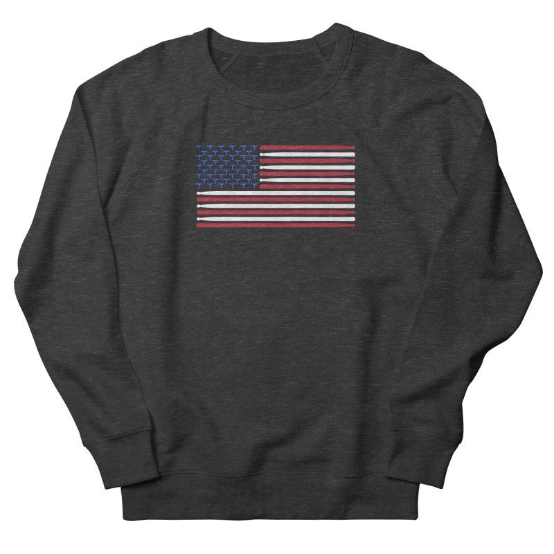 Old Glory Men's French Terry Sweatshirt by Drum Geek Online Shop