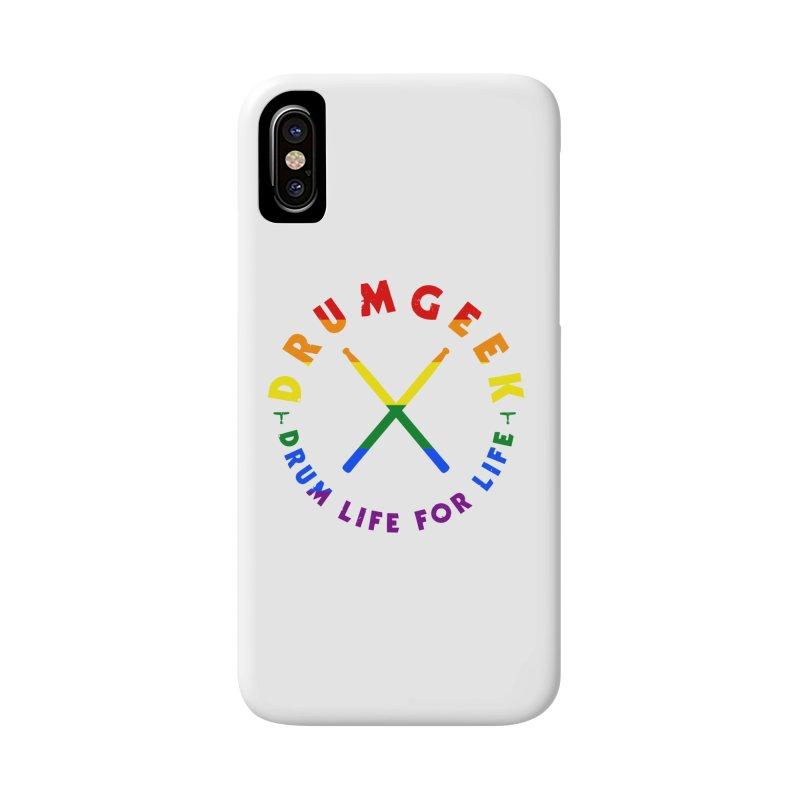 Drum Geek Pride Accessories Phone Case by Drum Geek Online Shop