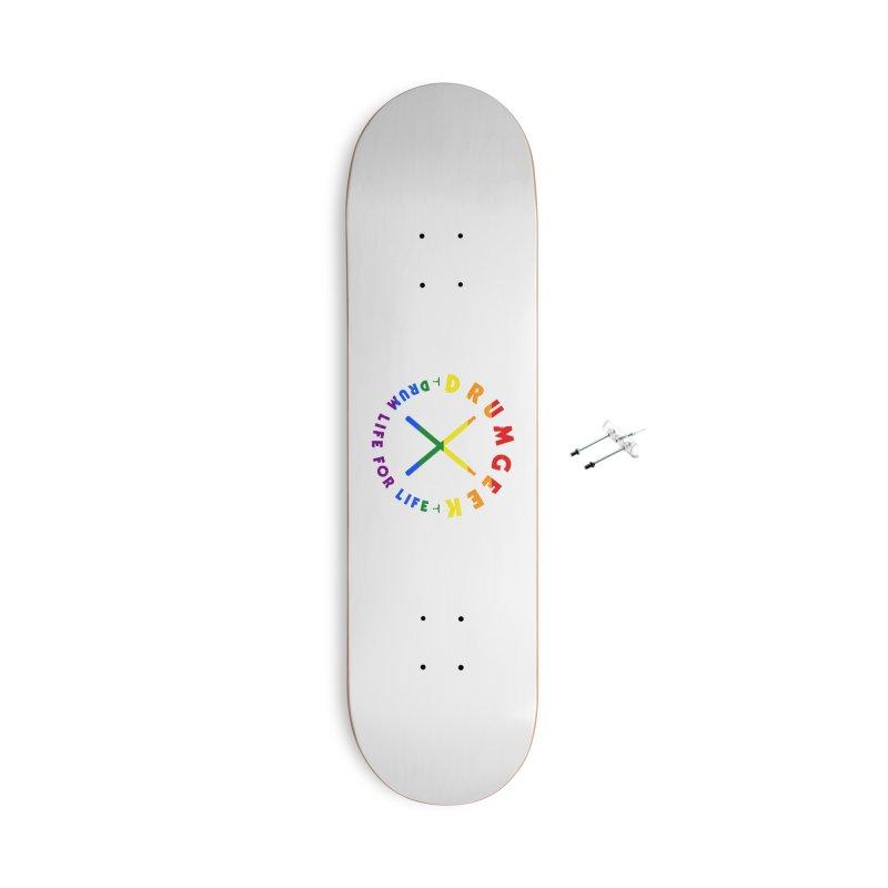 Drum Geek Pride Accessories With Hanging Hardware Skateboard by Drum Geek Online Shop
