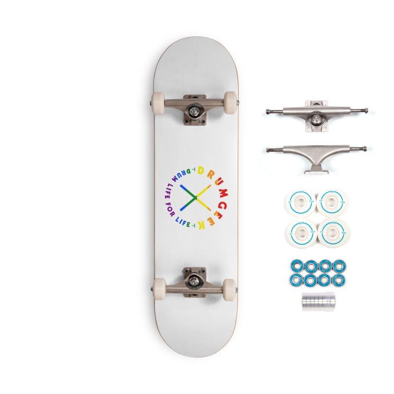 Drum Geek Pride Accessories Complete - Basic Skateboard by Drum Geek Online Shop